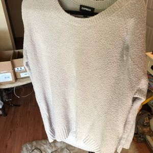 Oversize Express sweater